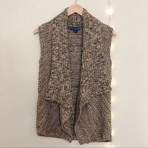 Karen Scott Chunky Knit Sweater Vest Size SP